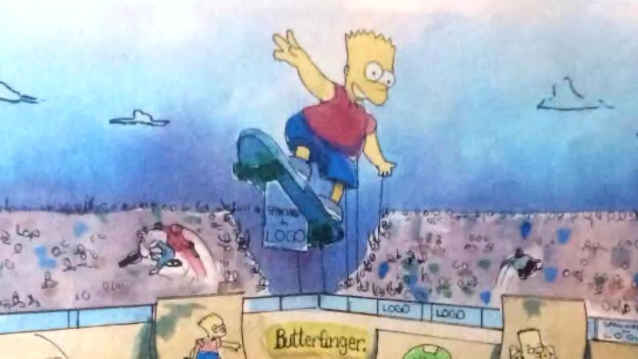 Possible early Simpsons art found