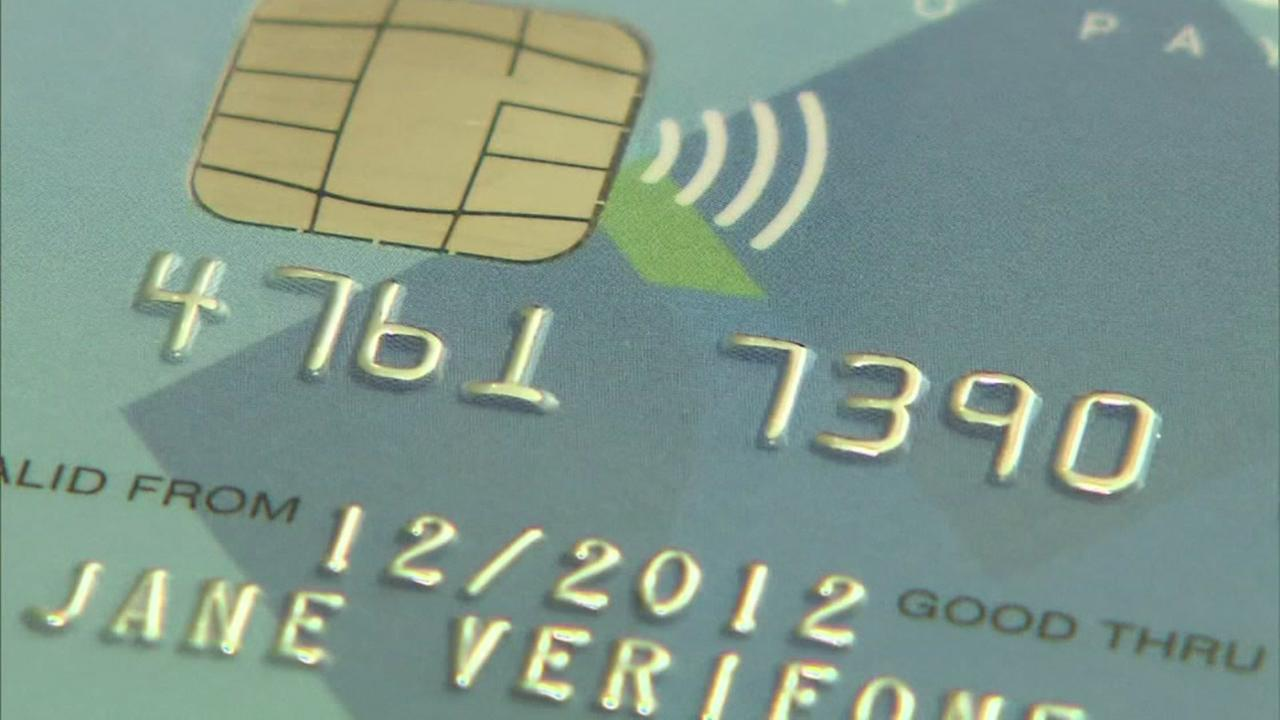Chip card scam