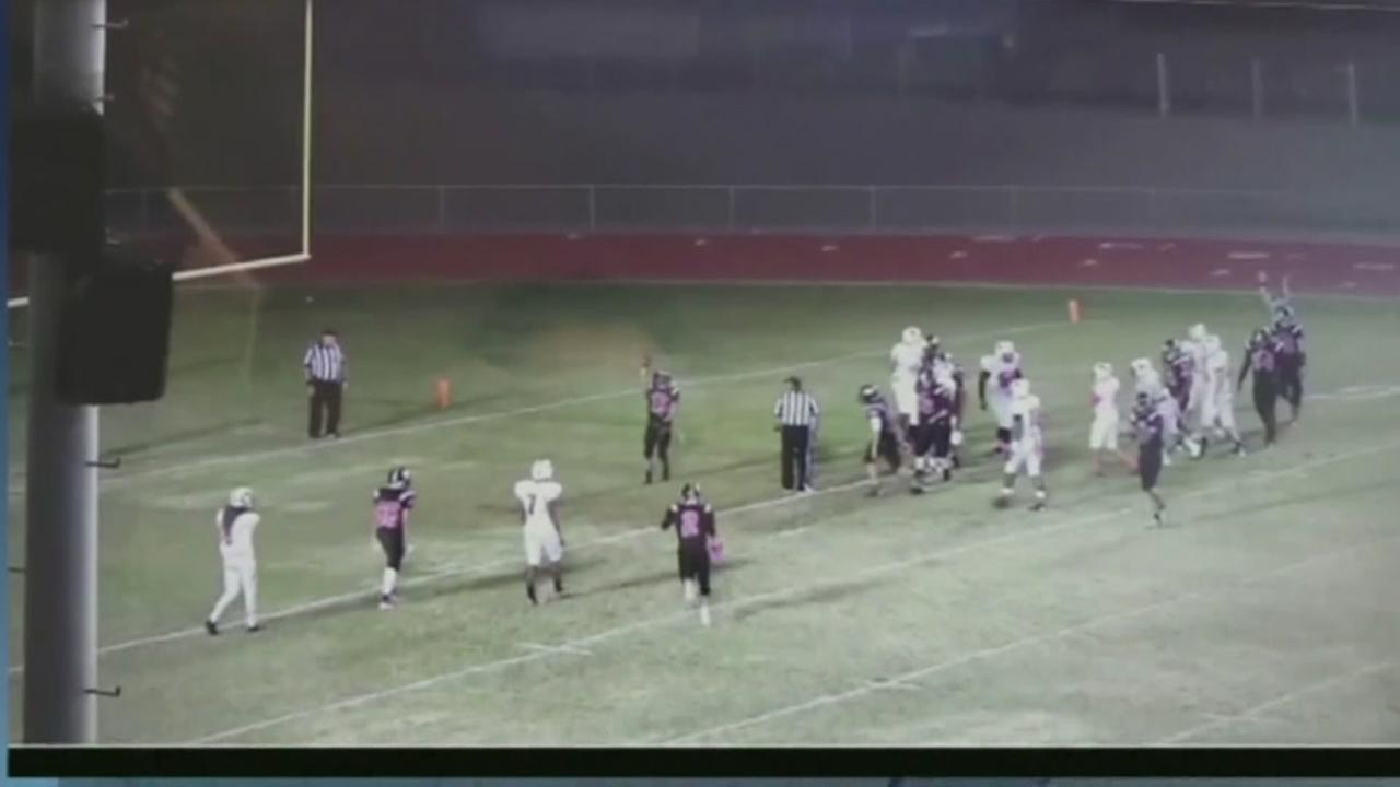 HS player suspened after thanking God