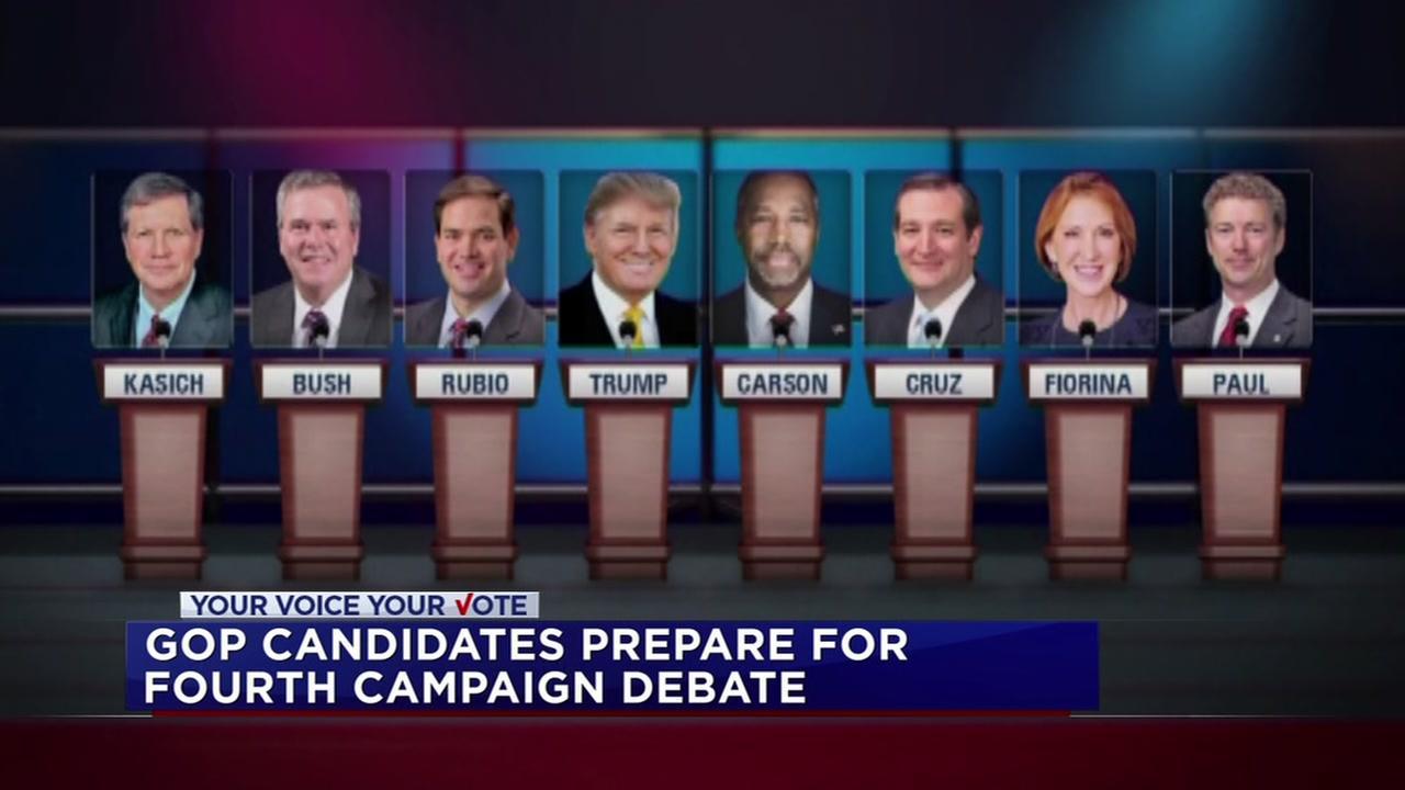 GOP candidates prepare for debate