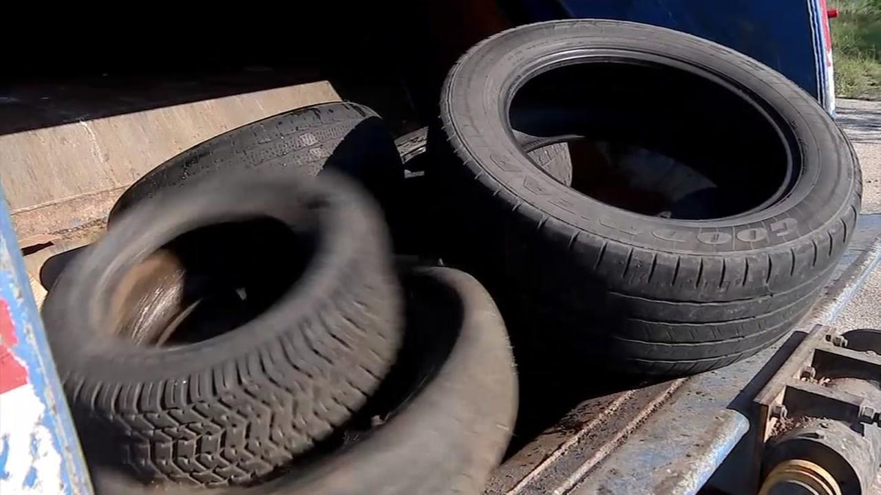 Dumped tires huge problem in Houston area