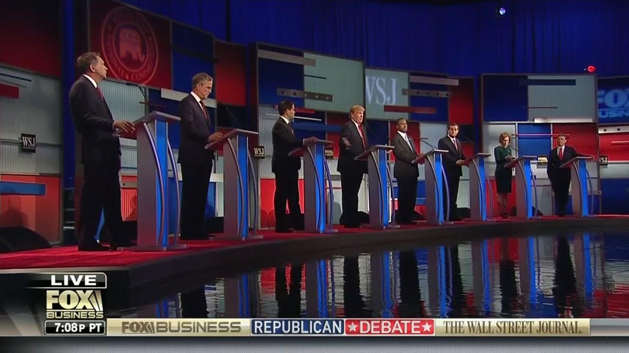 Republican debate heavy of substance, light on jabs