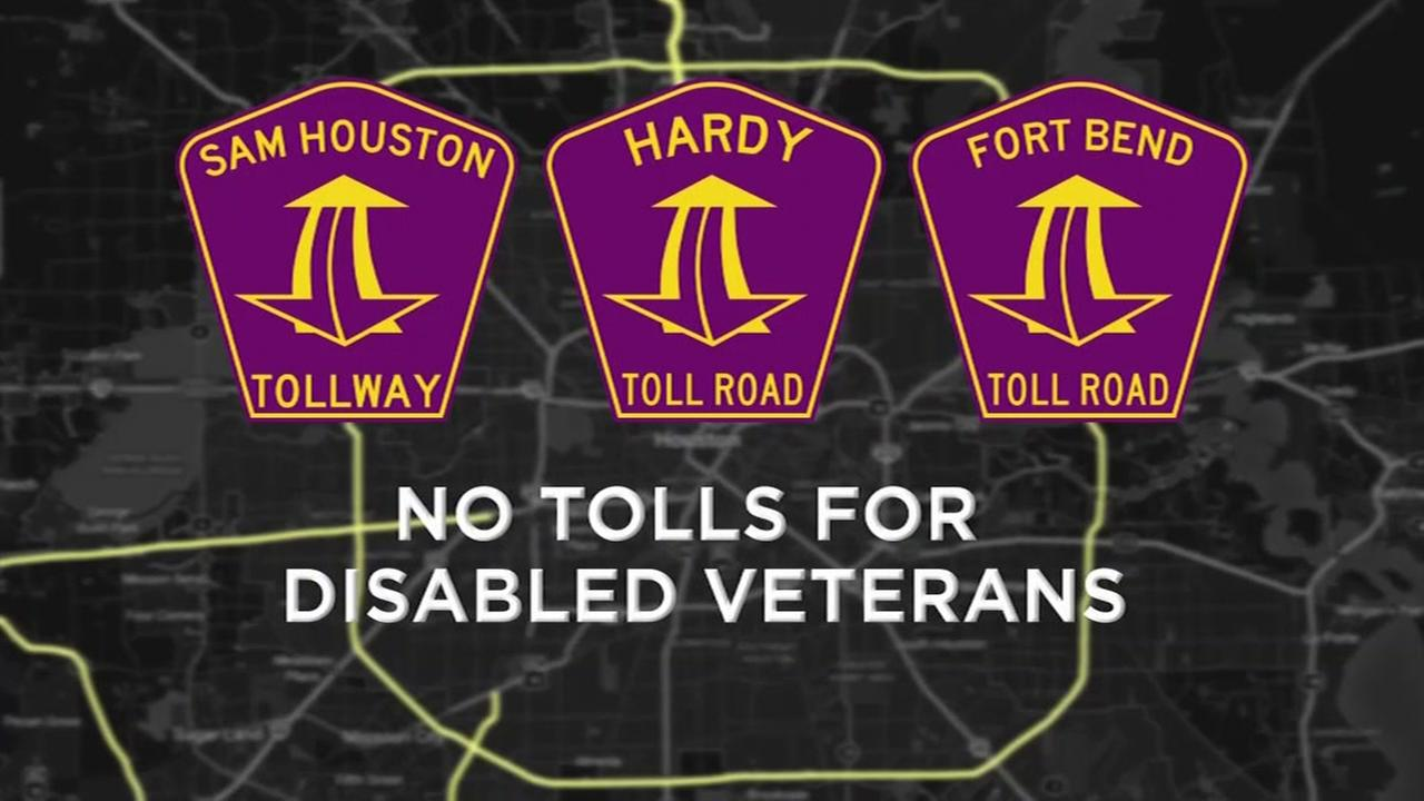 No tolls for disabled veterans?