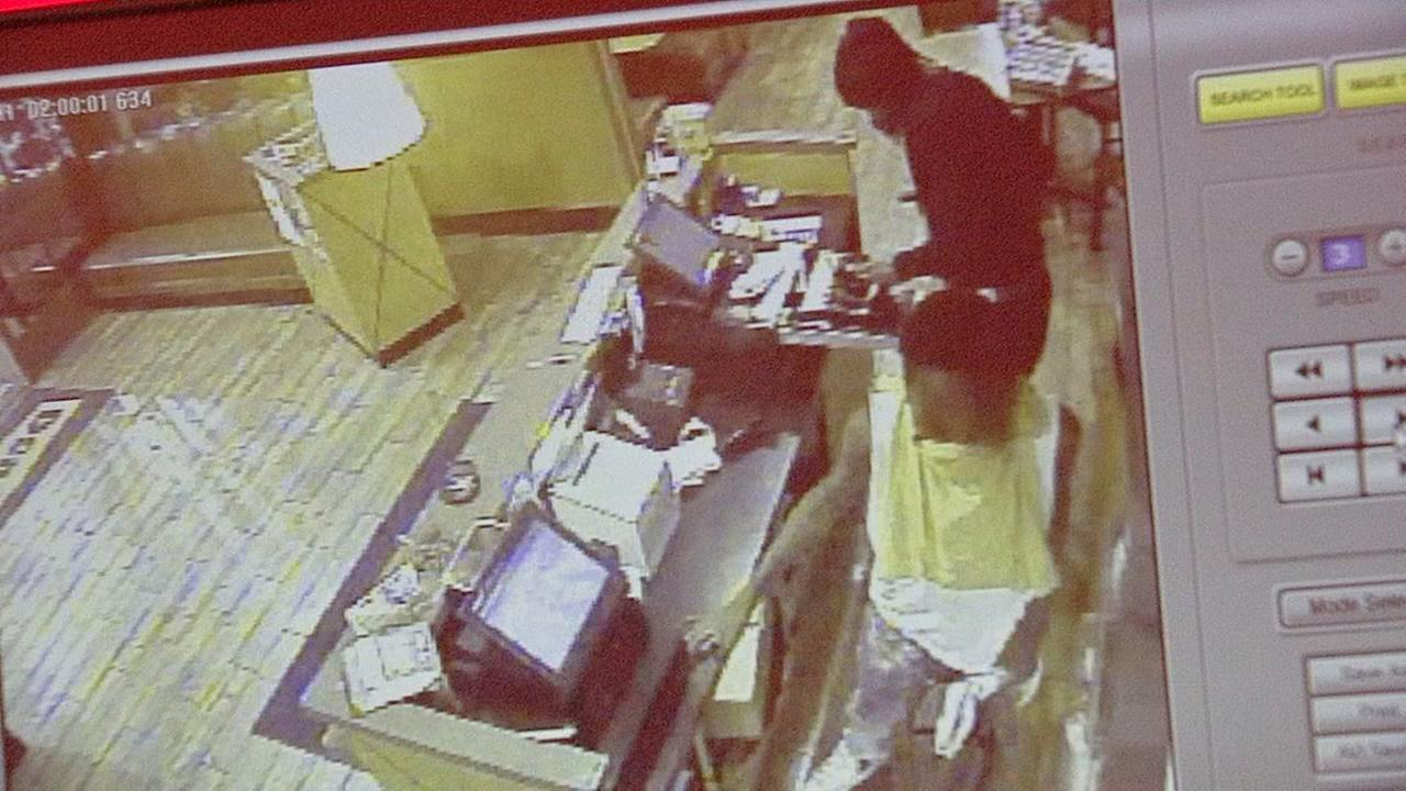 Dennys robbery surveillance video