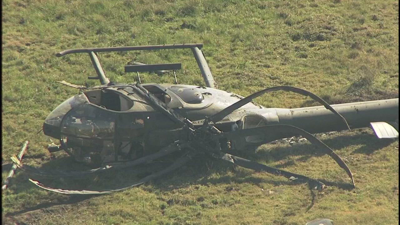 Helicopter crash in Brazoria County
