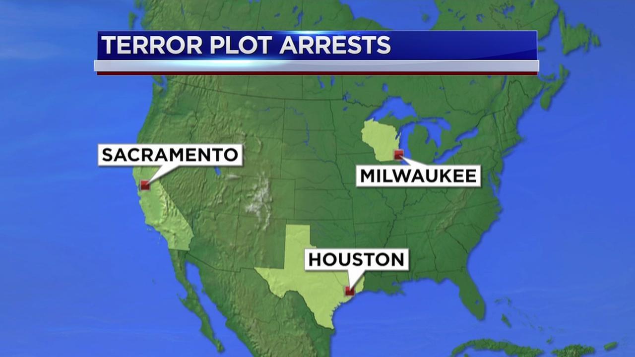 Terror arrest in Houston