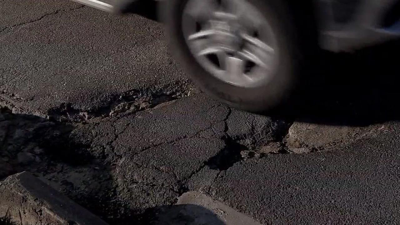 Were on pothole patrol