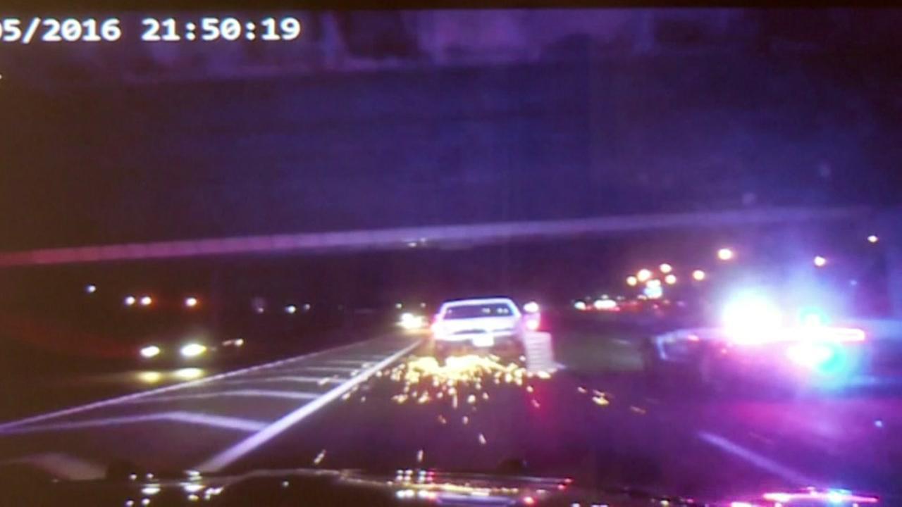 Wild end to Oklahoma police chase