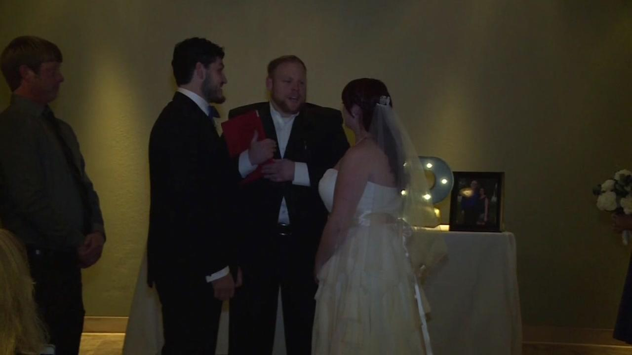 Surprise family with wedding