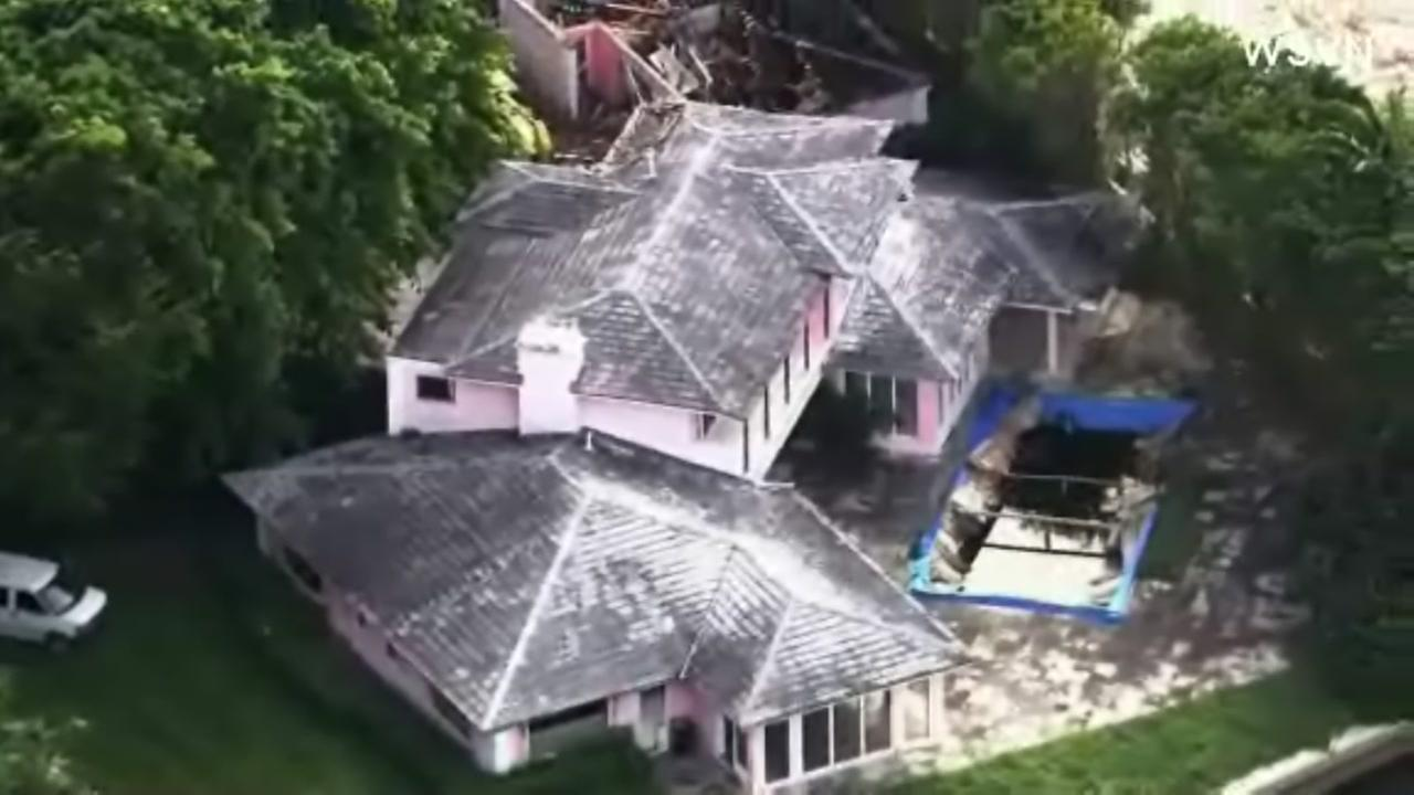 Escobar mansion demolished