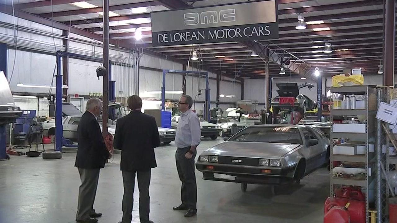 Back to the Future DeLorean car making a comeback?