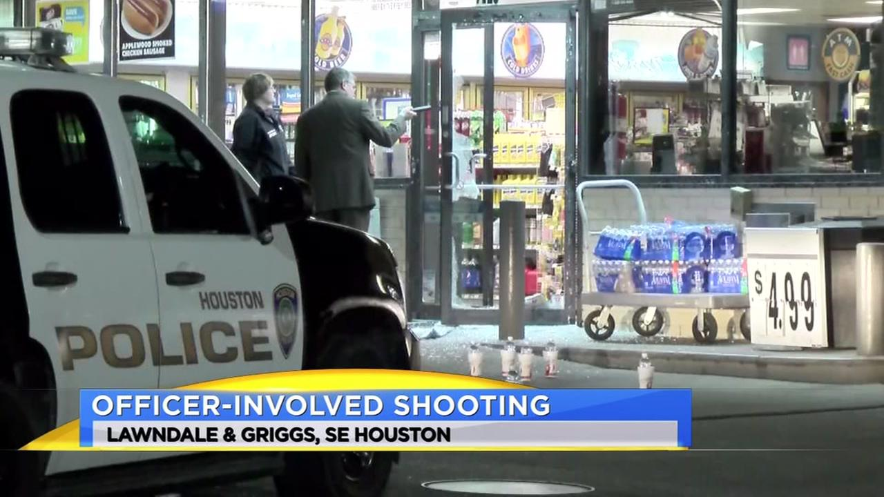 Suspect wounded in officer-involved shooting