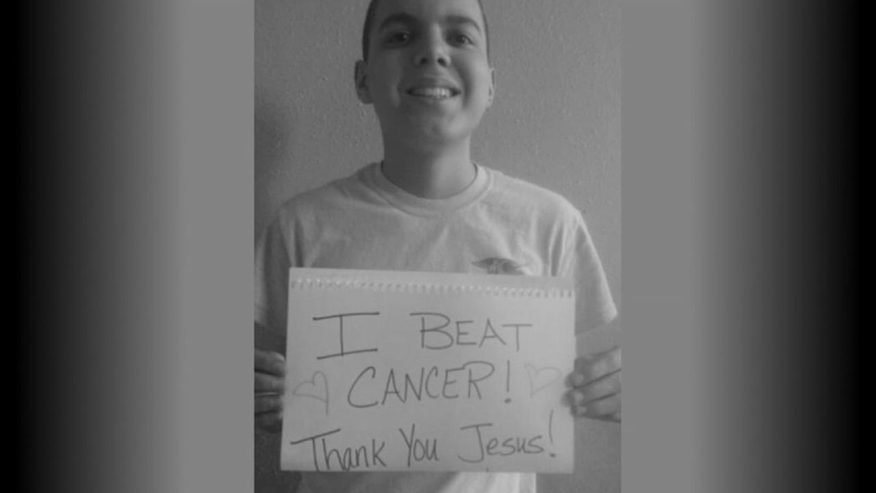 Klein-area teens cancer-free Facebook post goes viral