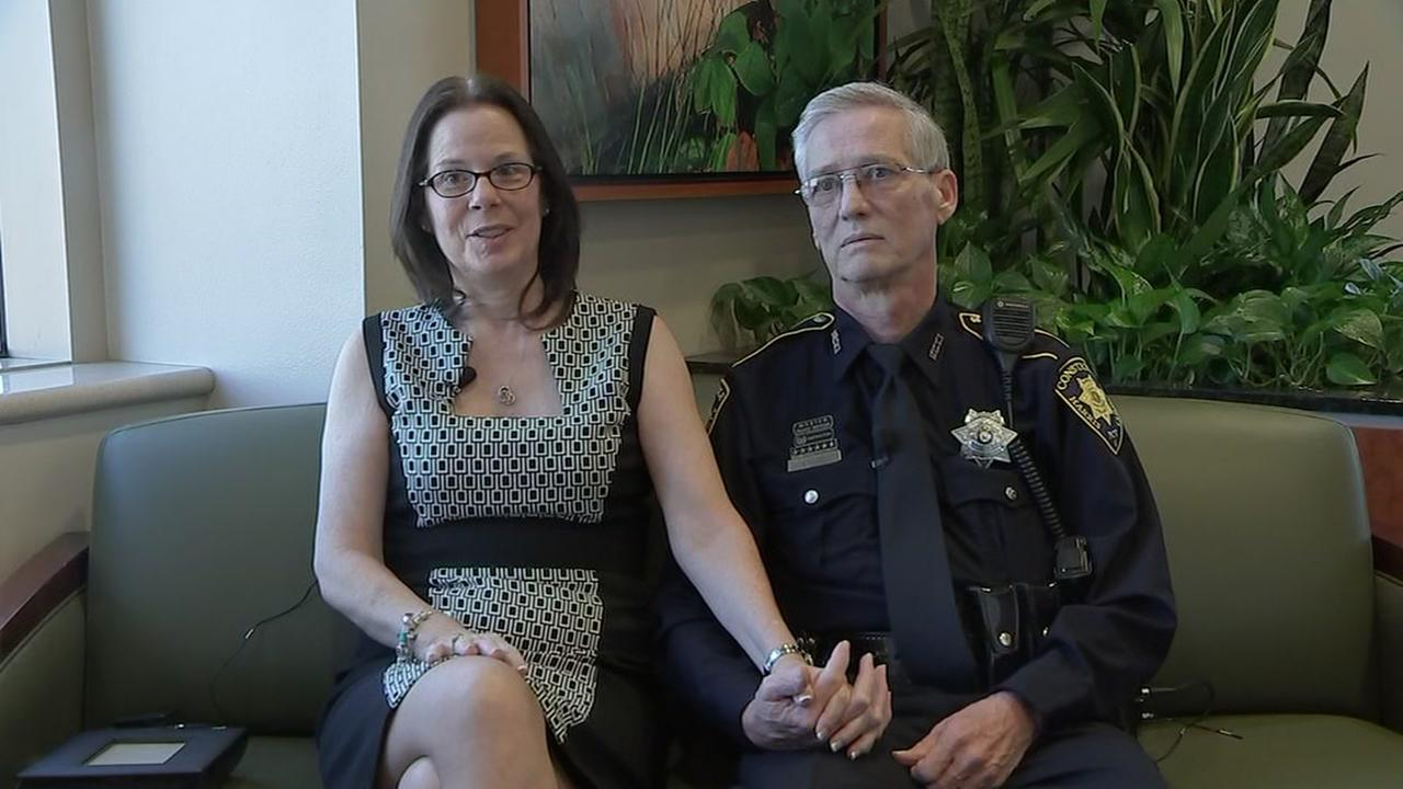 Officers health scare teaches him valuable lesson about love