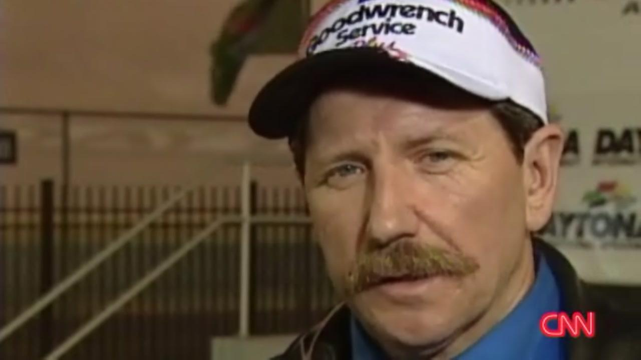 Dale Earnhardt Sr. talks safety