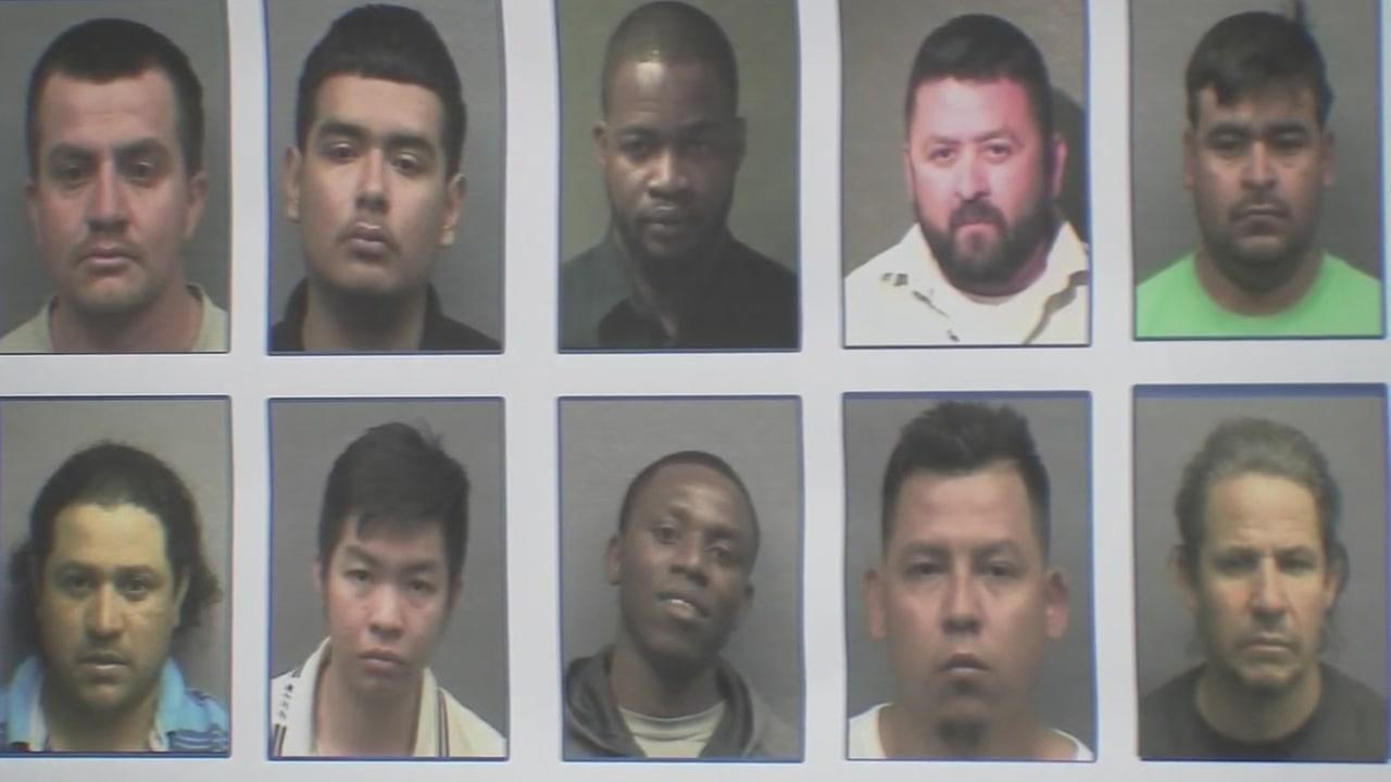 Sex trafficking operation announced