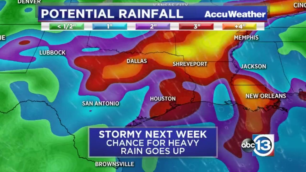 Stormy next week