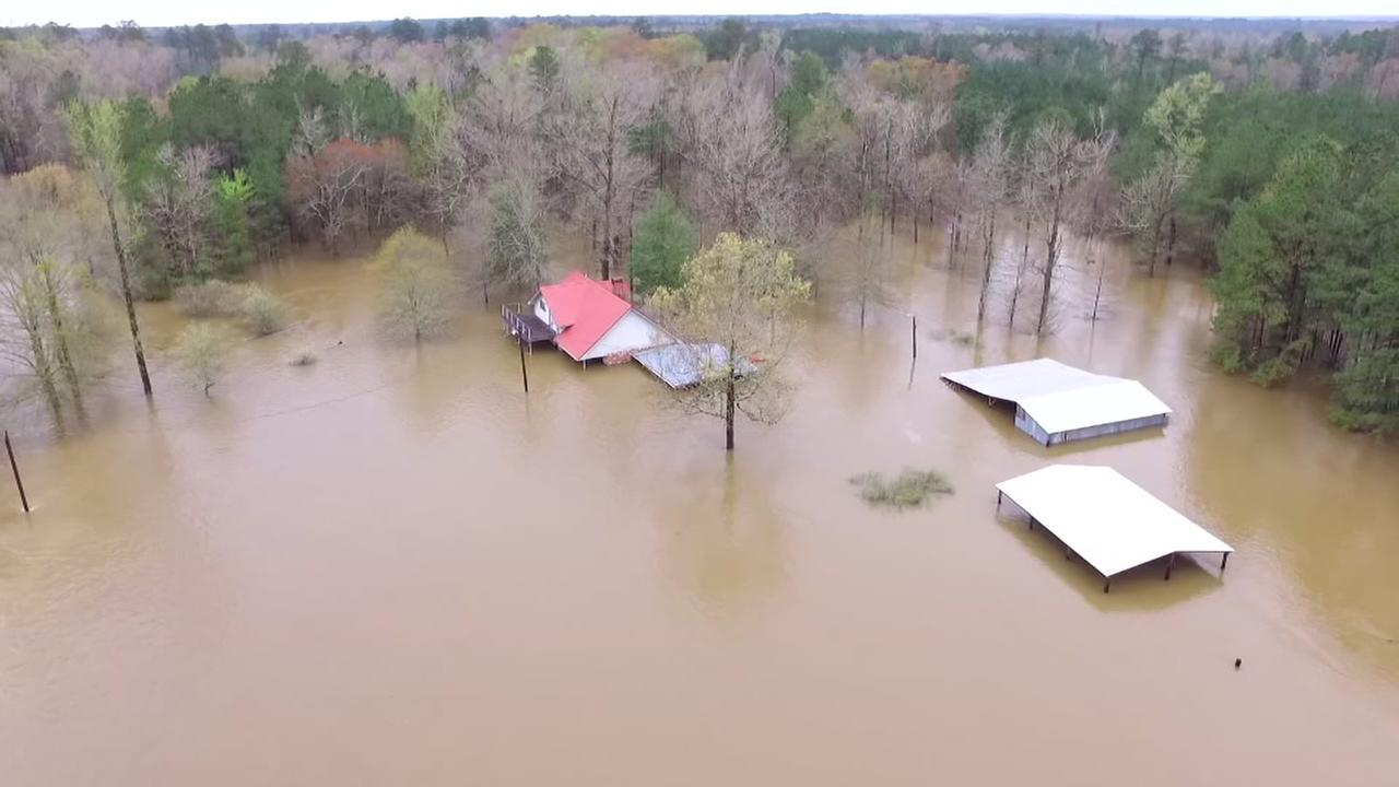 East Texas drone video