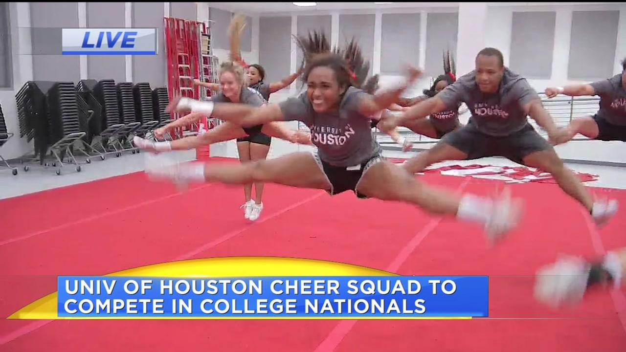 UH cheer squad to compete in college nationals