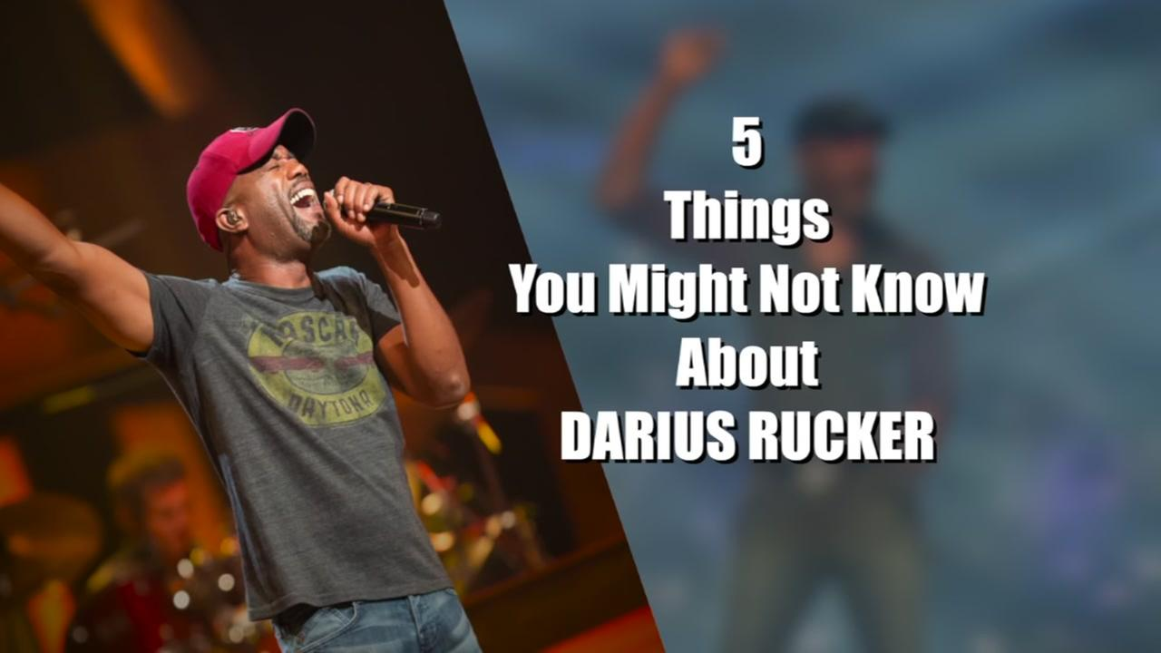 Five things you might not know about Darius Rucker