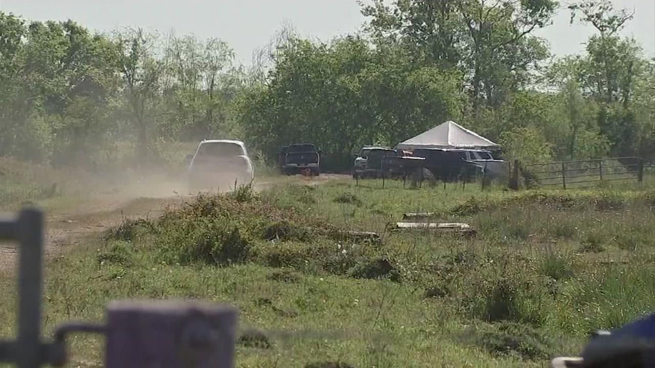 Human remains found at dig site