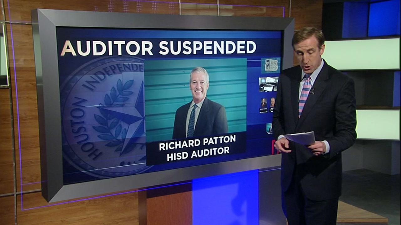 HISD auditor suspended