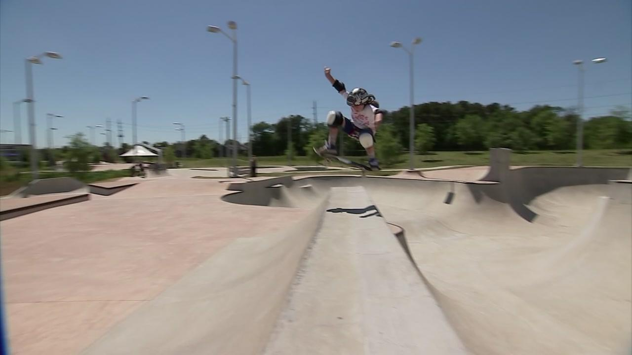 Houston skatepark