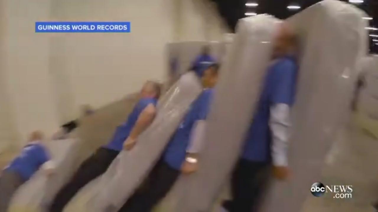Bizarre mattress record