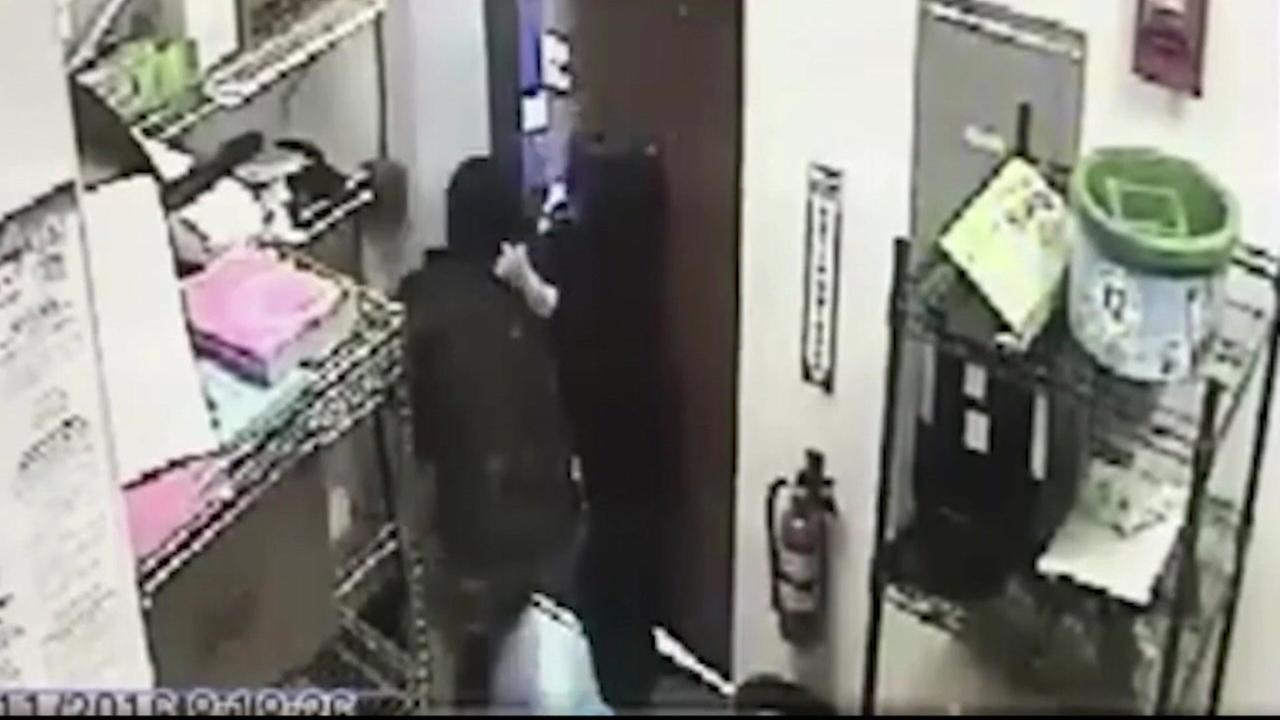 Woman fights Subway robber