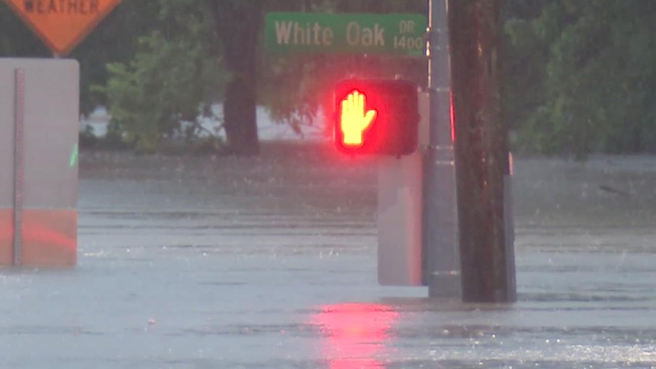 High water on White Oak