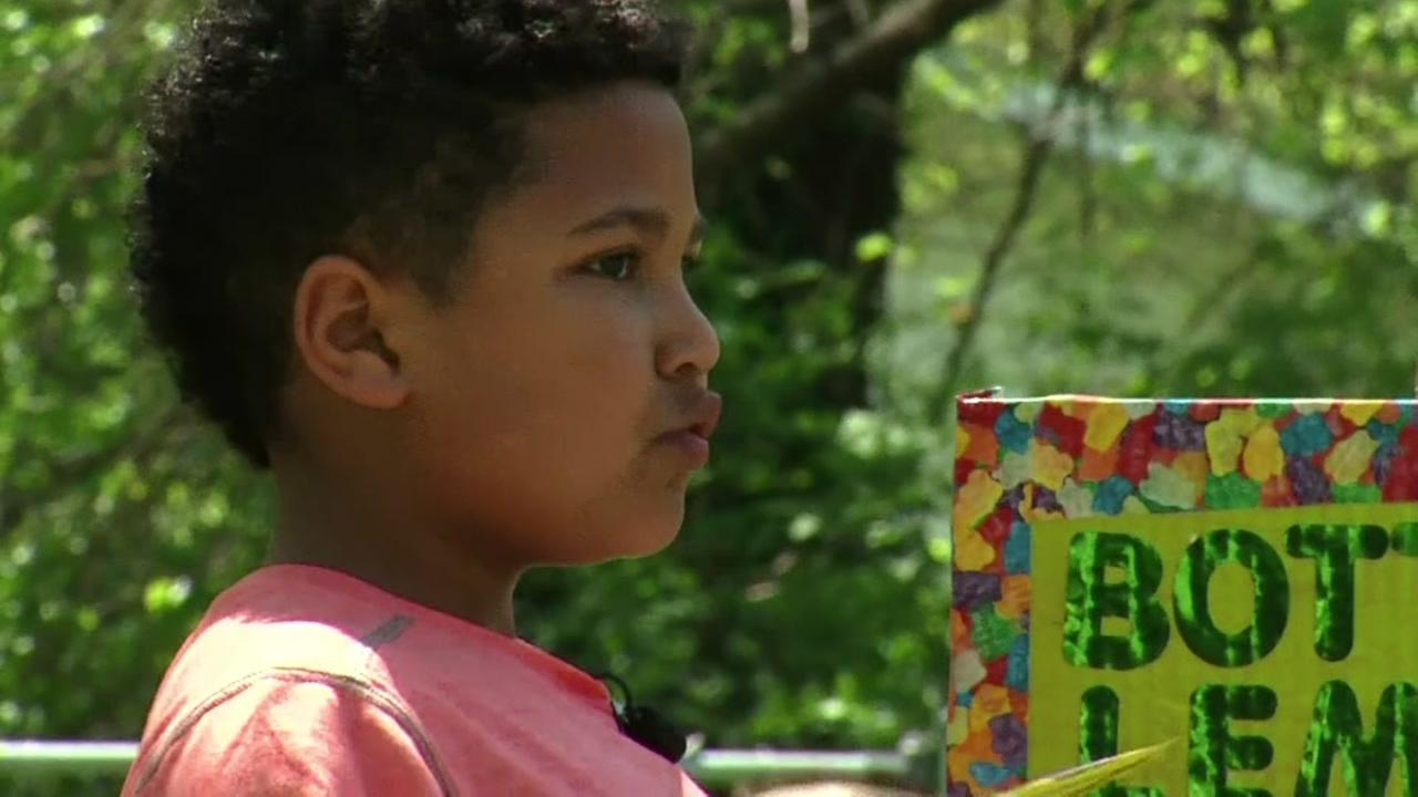Foster kids abc7 boy sells lemonade to pay for his own adoption ccuart Choice Image