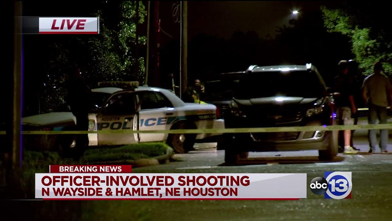 Suspect taken to hospital after officer-involved shooting
