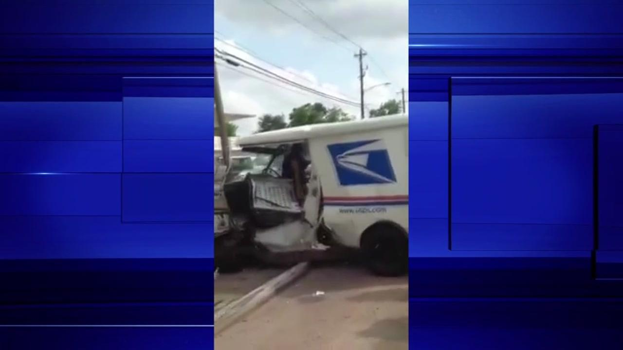 Street racers hit, injure postal worker