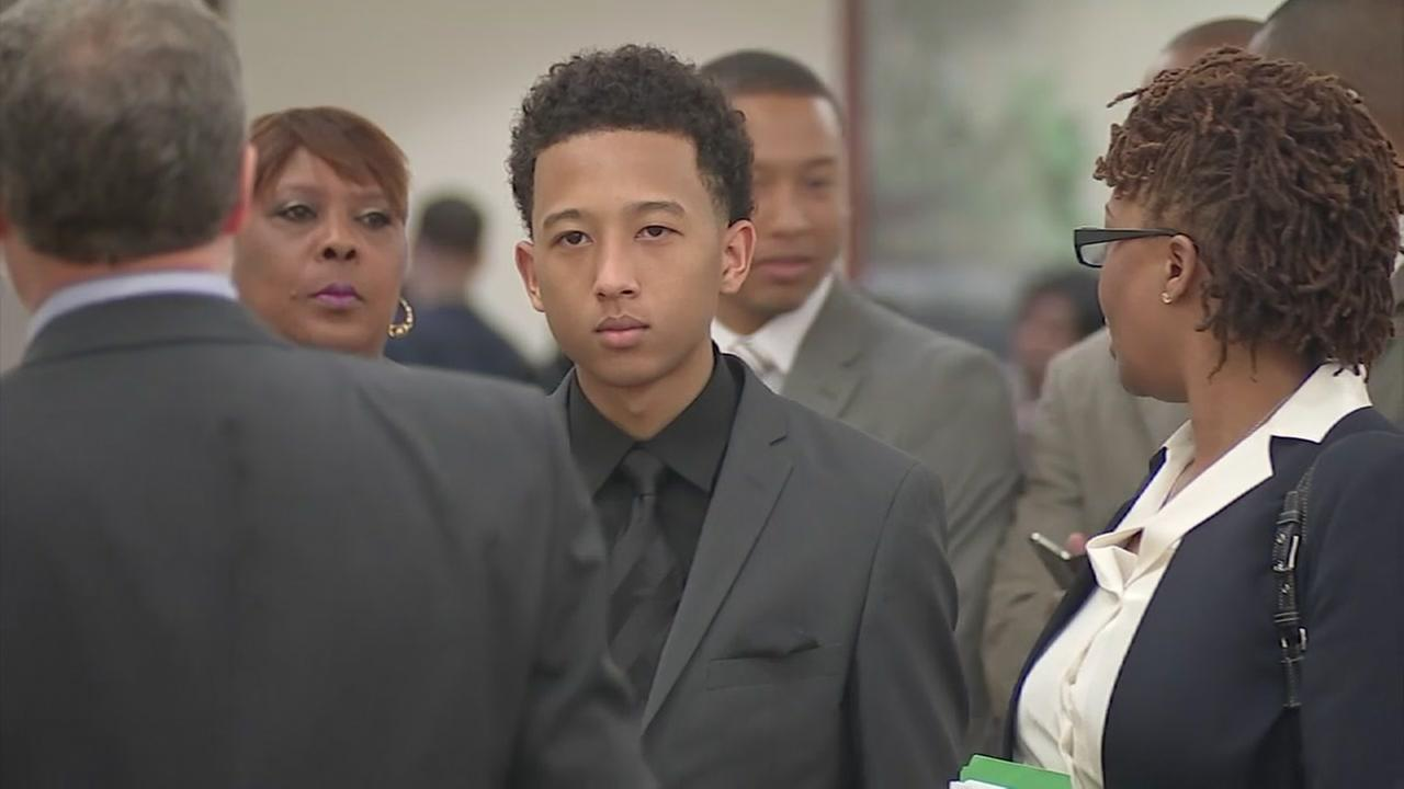 Teen charged with lunch line forgery appears in court