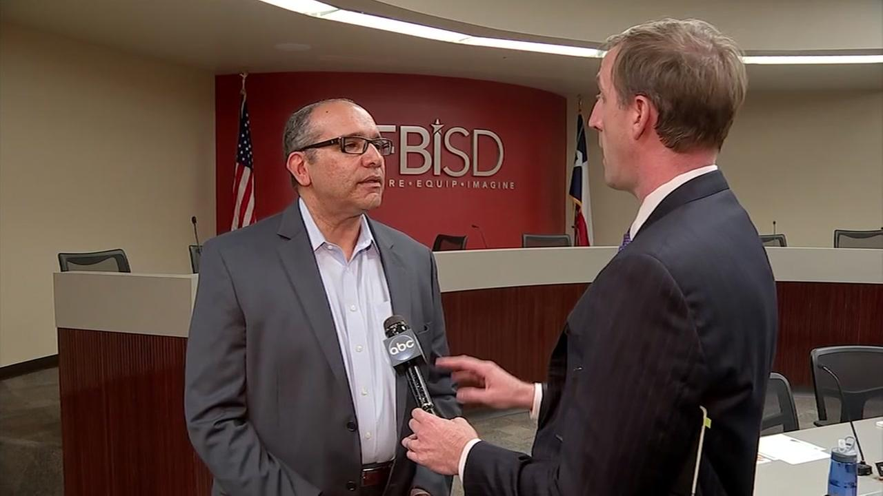 Fort Bend ISD superintendent discusses forgery arrests