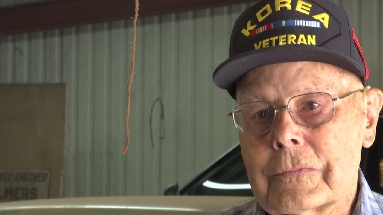 Veteran Gets HS Diploma