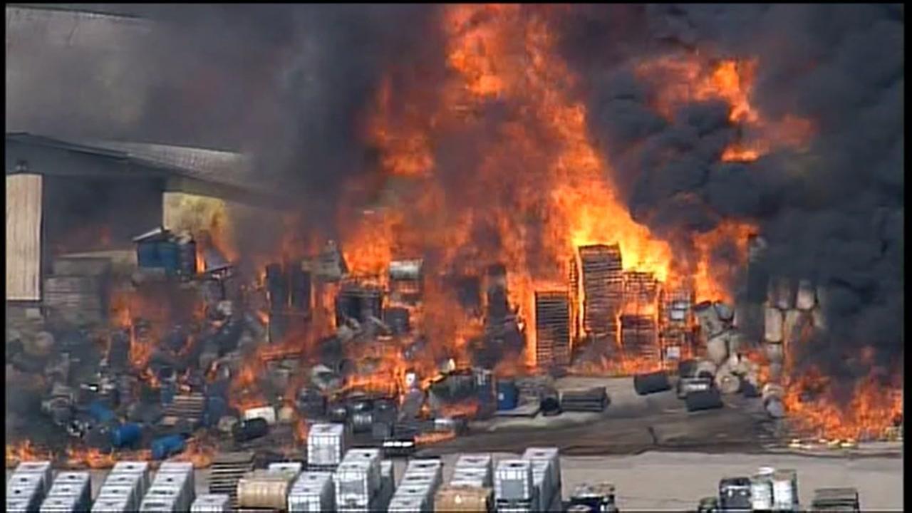 Warehouse Fire Recap