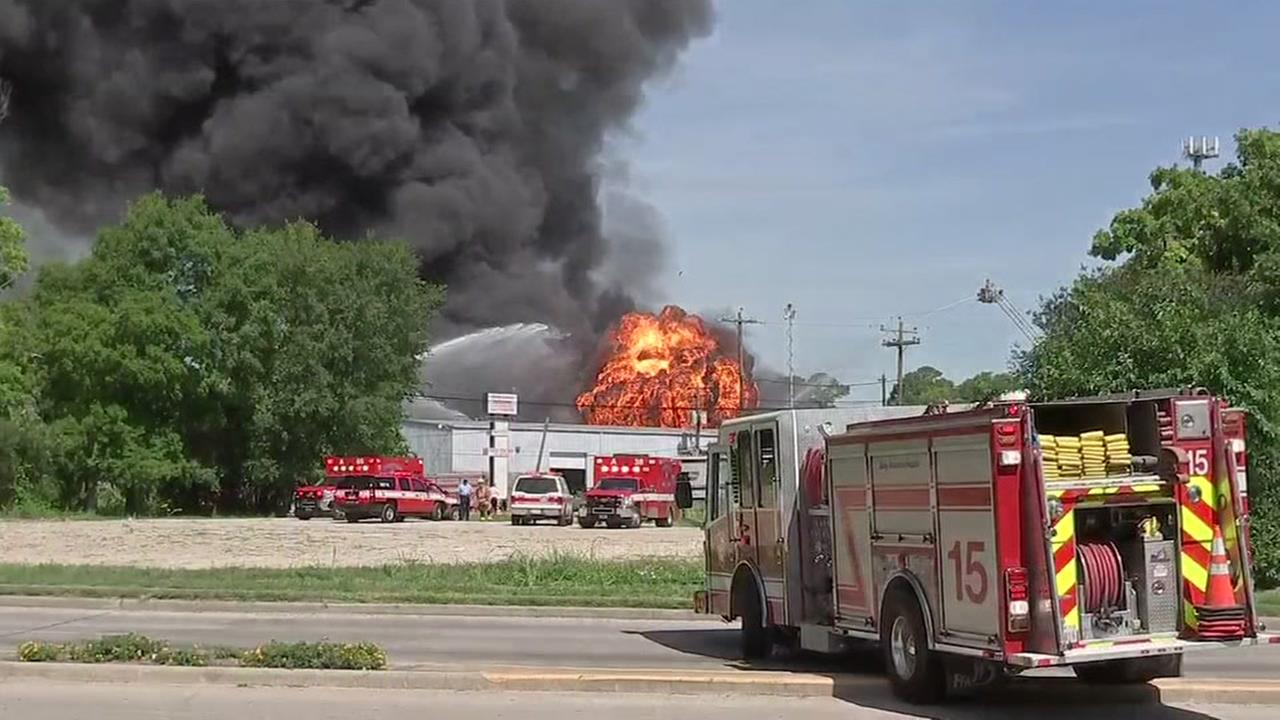 Fire swallows business in Spring Branch