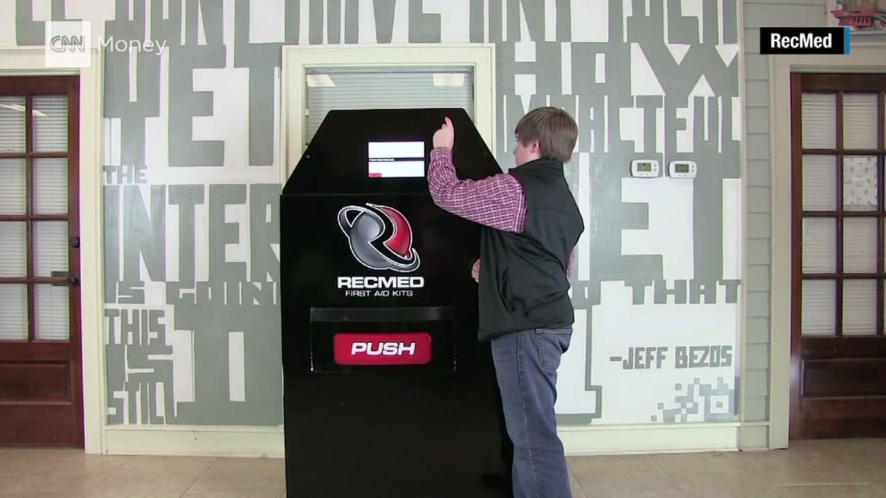 Teen creates vending machines