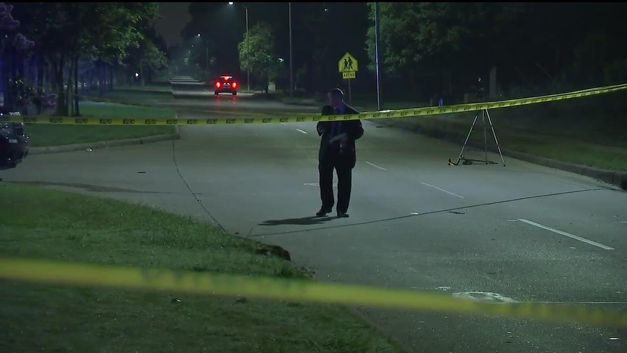 Two teenagers shot