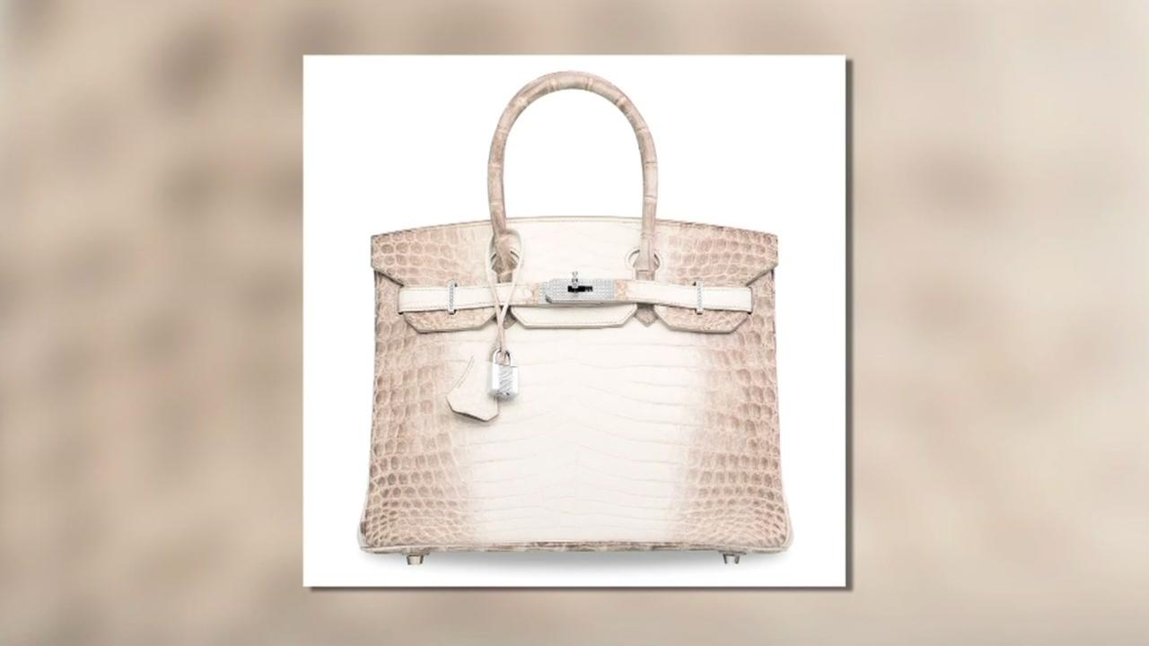 Birkin bag sells at auction