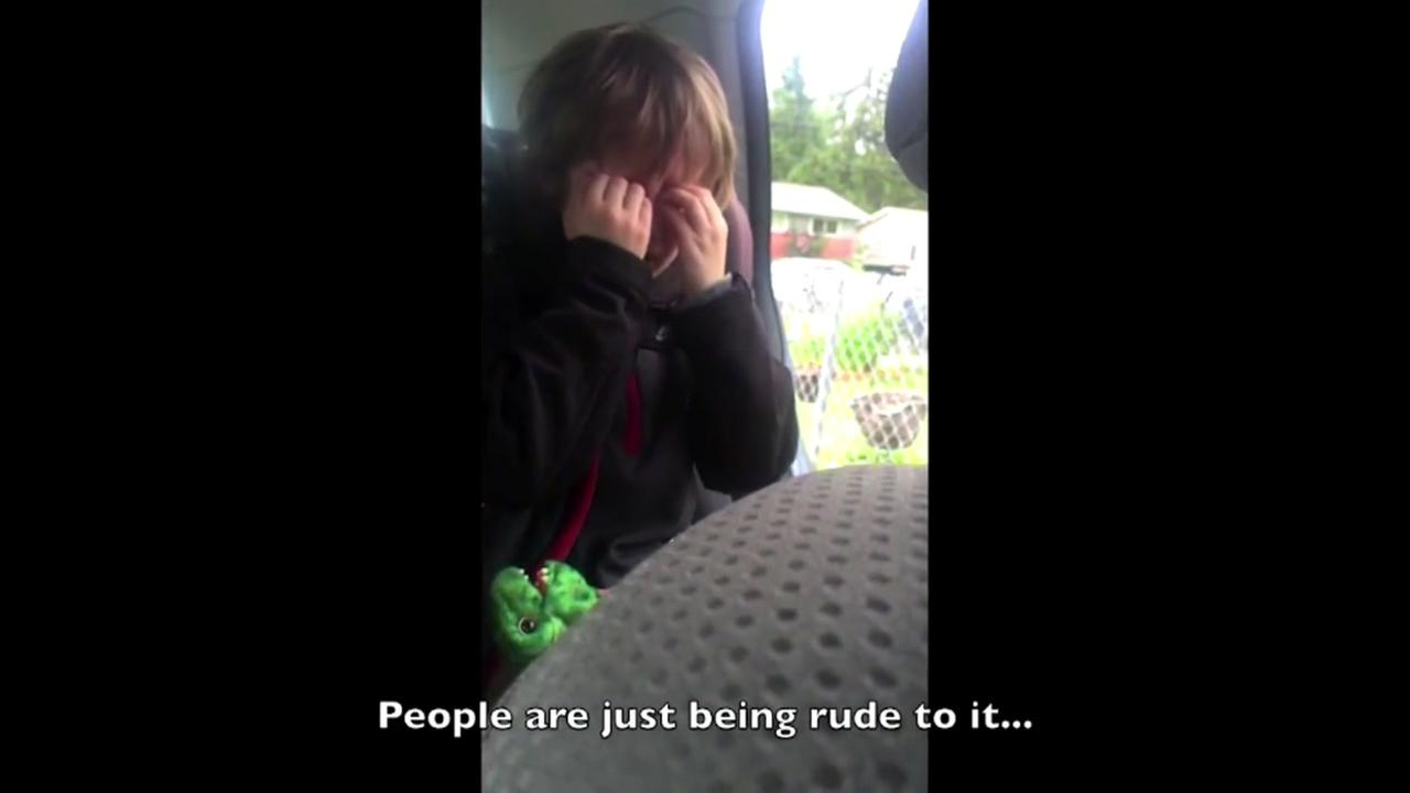 VIDEO: 6-year-old gets emotional over the environment