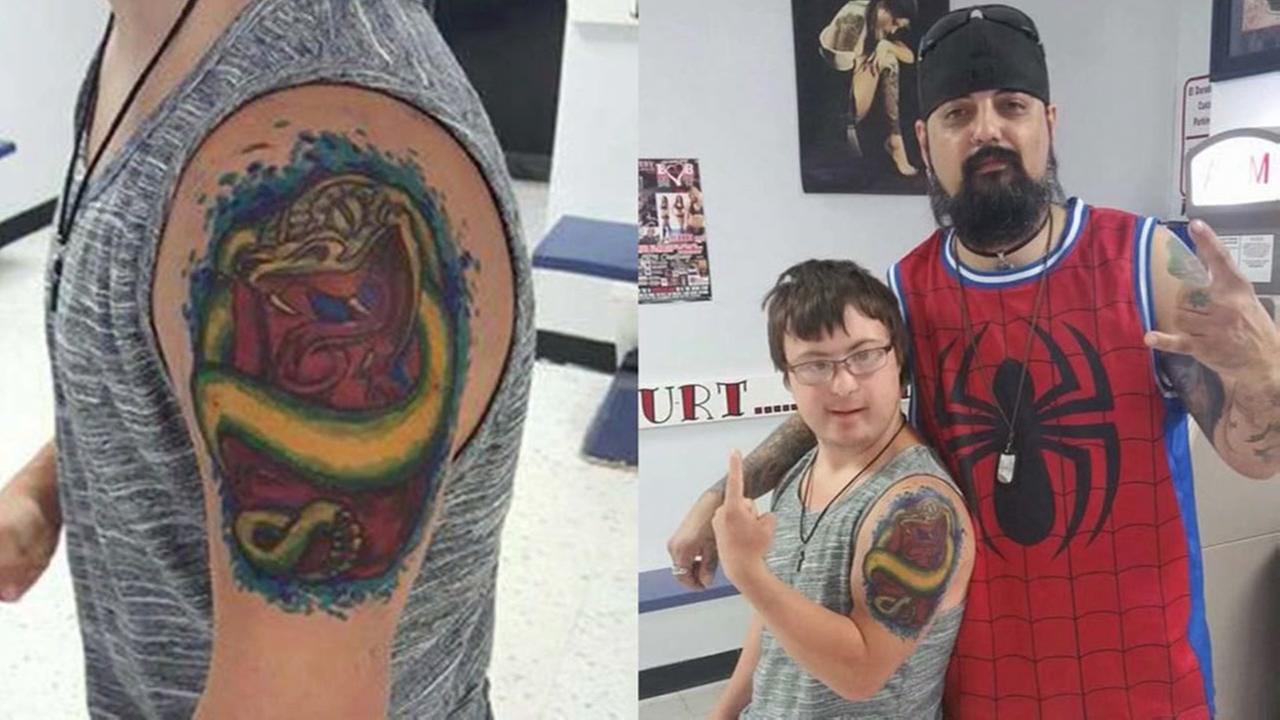 Tattoo Artist Uses Markers To Give Man With Down Syndrome Some Ink Abc13 Com