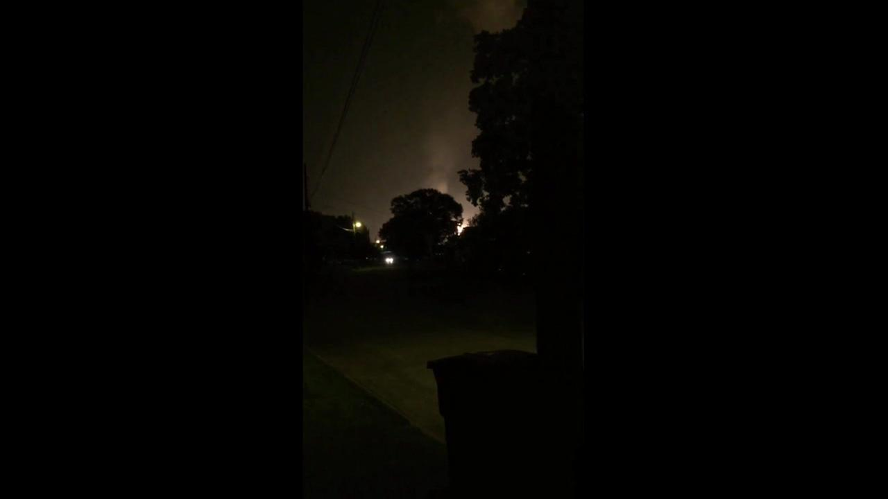 Explosion seen at MS plant