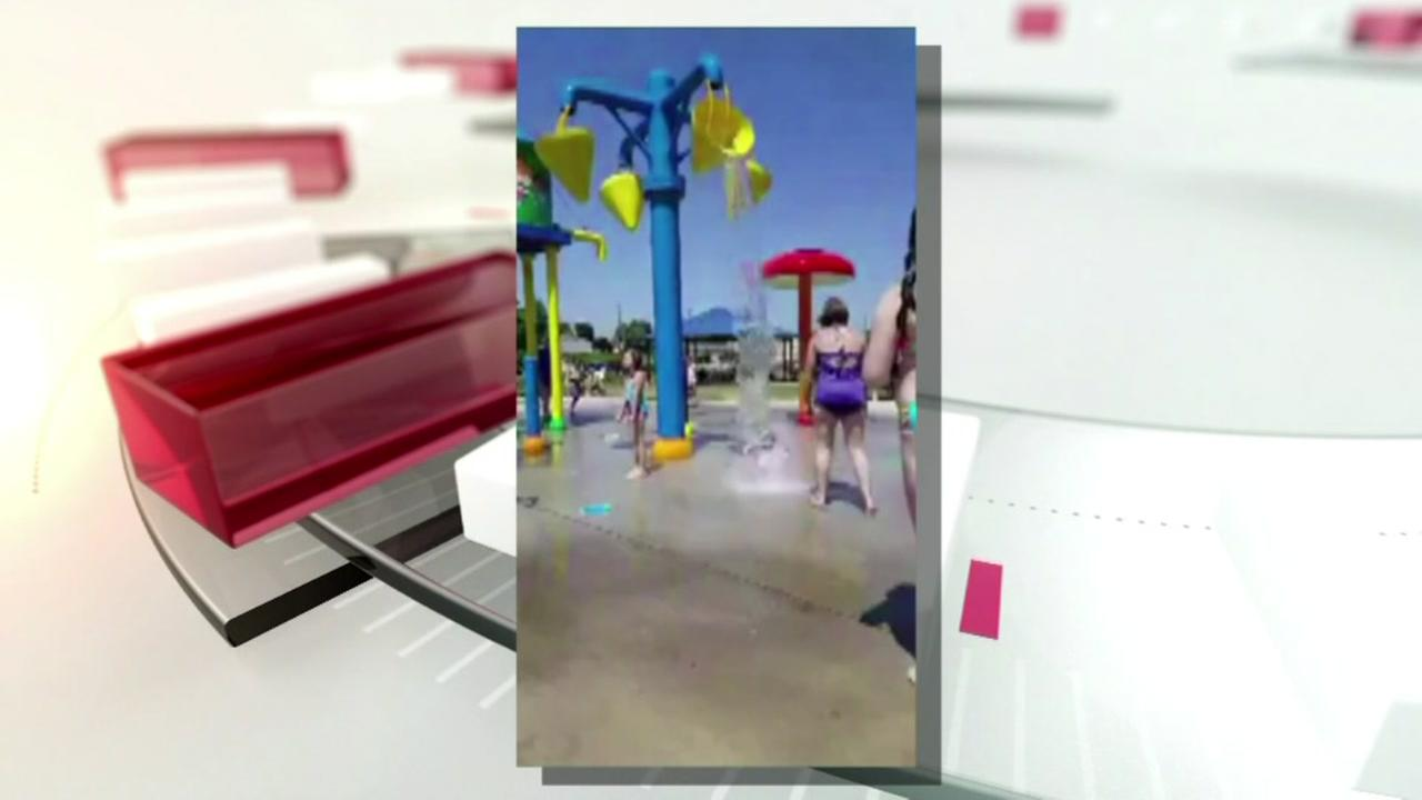 Babysitter in viral splash pad video speaks out