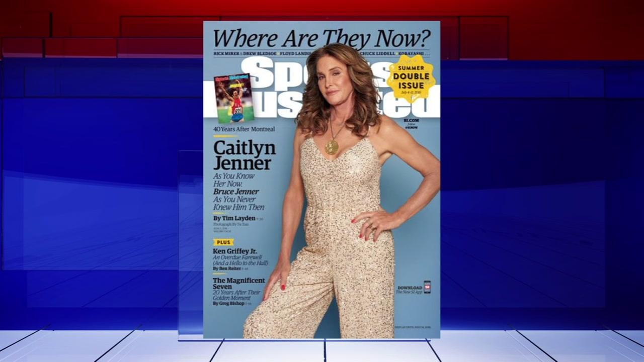 Kaitlin Jenner on cover of SI