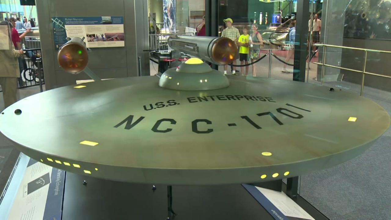 U.S.S. Enterprise on display