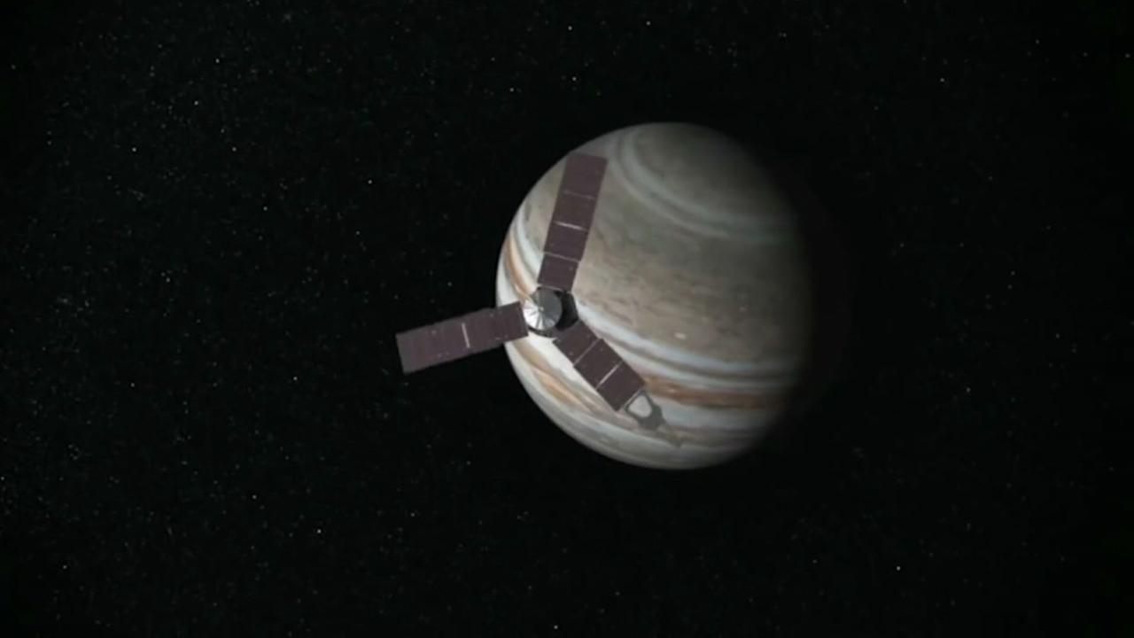Welcome to Jupiter: NASA spacecraft reaches giant planet ...