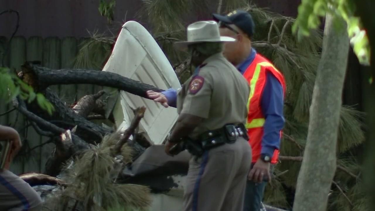 Four dead in west Houston plane crash