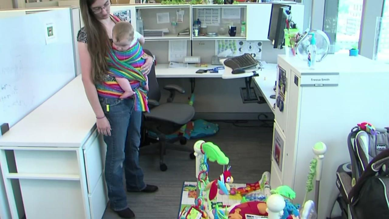 Program allows employees to bring babies to work